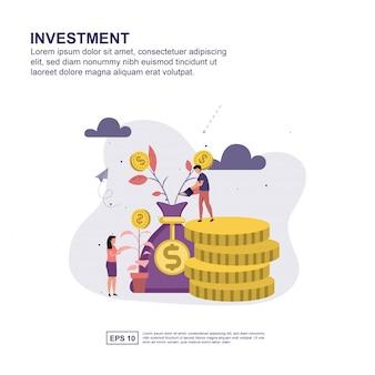 Investeringen concept