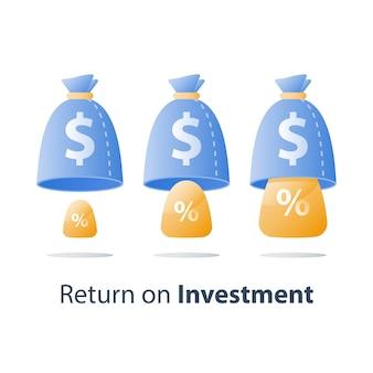 Investeringsstrategie op lange termijn, pensioenfonds, veilige financiën, spaarrekening, vermenigvuldig kapitaal, beleggingsfonds