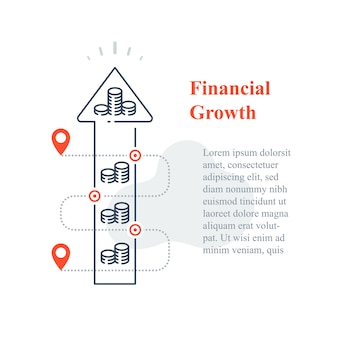 Investeringsstrategie op lange termijn, vergroting van de aandelenmarkt