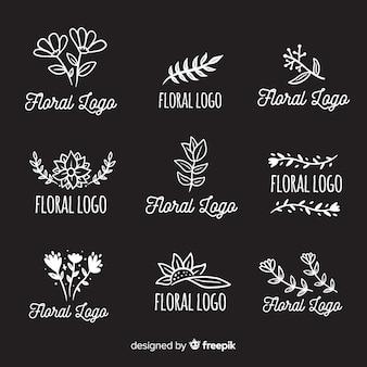 Inzameling van de emblemen van de huwelijksbloemist