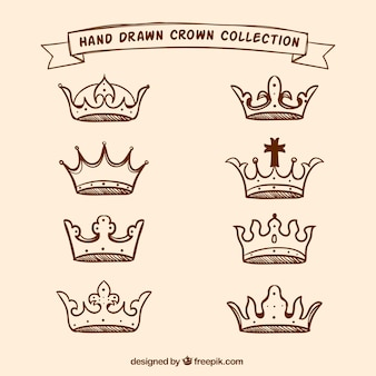 Inzameling van handgetekende kronen
