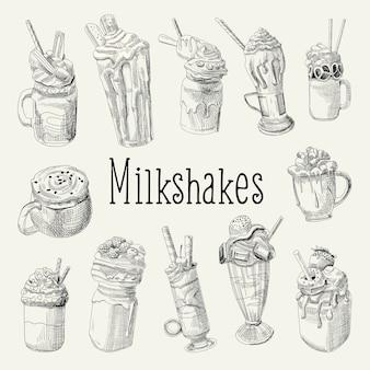 Inzameling van milkshakes