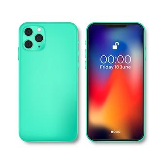 Iphone 11 in realistisch ontwerp