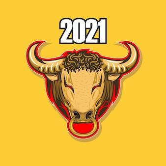 Is het jaar van de stier volgens de oosterse kalender.