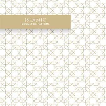 Islamitisch arabisch naadloos geometrisch patroon