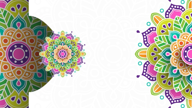 Islamitische achtergrond met ornament voor banner, uitnodiging, enz.