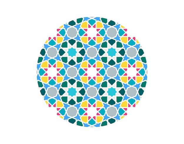 Islamitische achtergrond. mozaïek patroon.