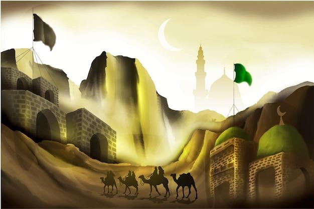 Islamitische illustratie