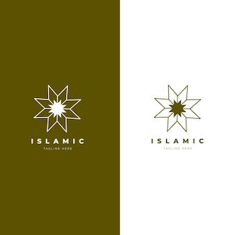 Islamitische logo sjabloon