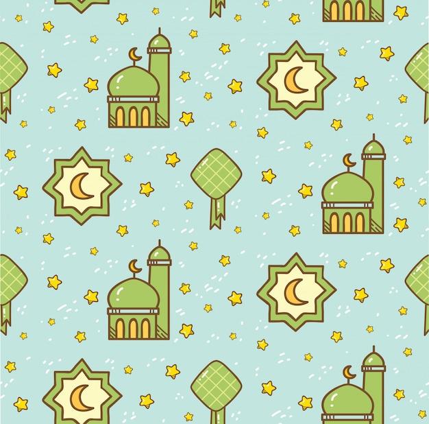 Islamitische naadloze patroon