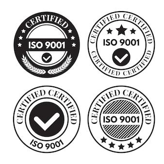 Iso-certificering postzegelverzameling