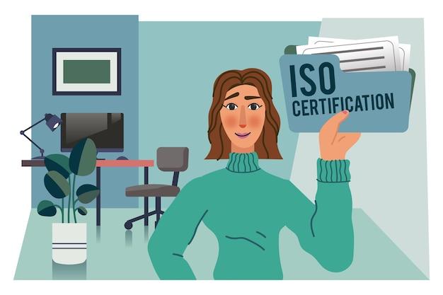 Iso-certificeringsconcept