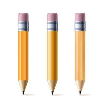 Isoleer gele potloden