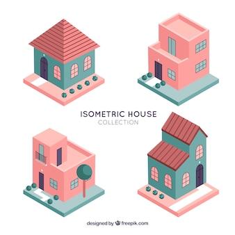 Isometriс huizen collectie