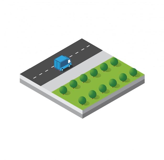 Isometrisch 3d-moduleblok