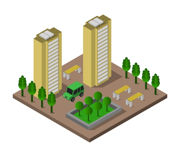 Isometrisch gebouw