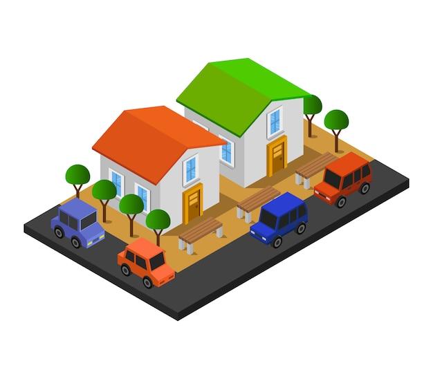 Isometrisch huis