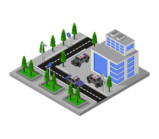 Isometrisch politiebureau