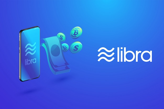 Isometrisch van libra digitale valuta
