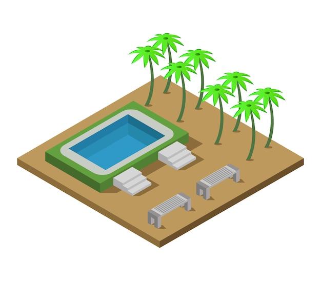 Isometrisch zwembad