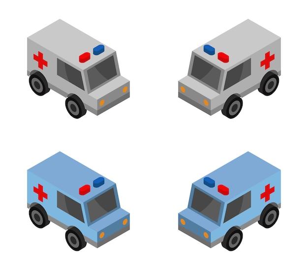 Isometrische ambulance set