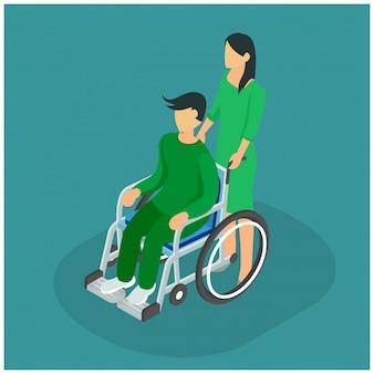 Isometrische behandeling ziekenhuisklinieken