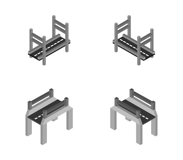 Isometrische brug set