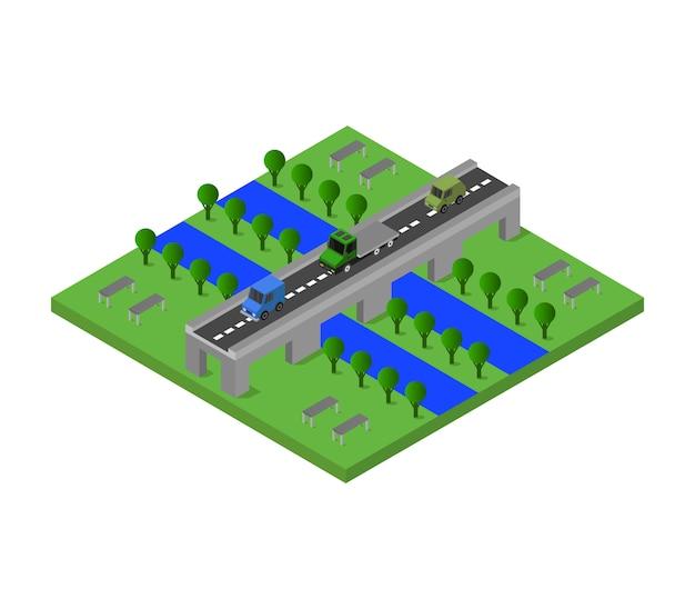 Isometrische brug