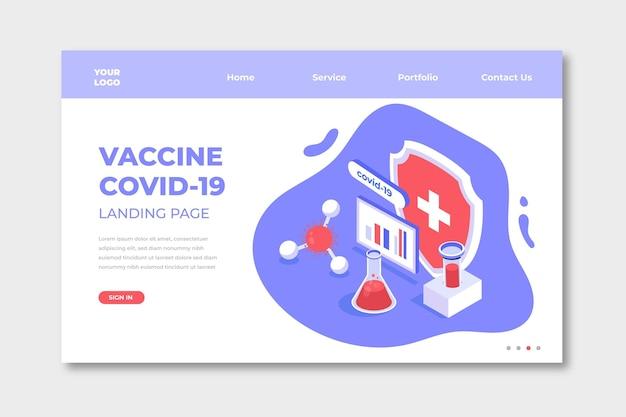 Isometrische coronavirus vaccinontwikkeling