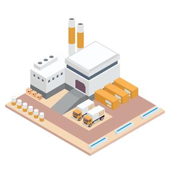 Isometrische fabriek
