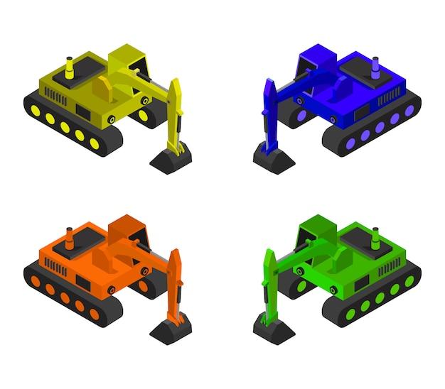 Isometrische graafmachine