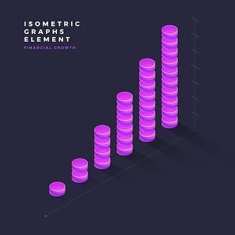 Isometrische grafisch element