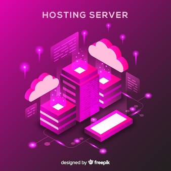 Isometrische hosting concept