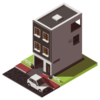 Isometrische huis