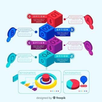 Isometrische infographic