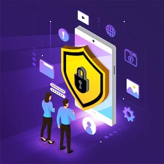 Isometrische netwerkbeveiliging