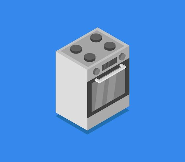 Isometrische oven