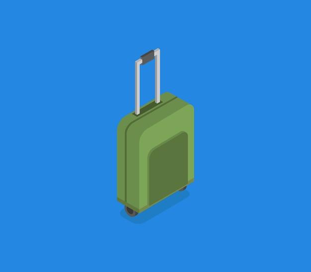 Isometrische pictogram reizen koffer