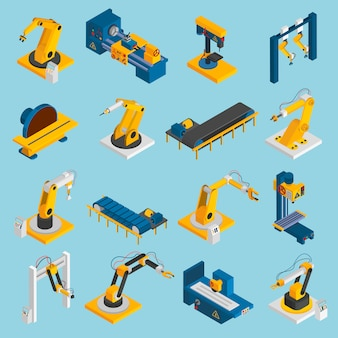 Isometrische robot machines