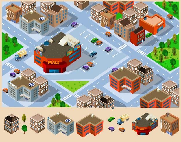 Isometrische stad