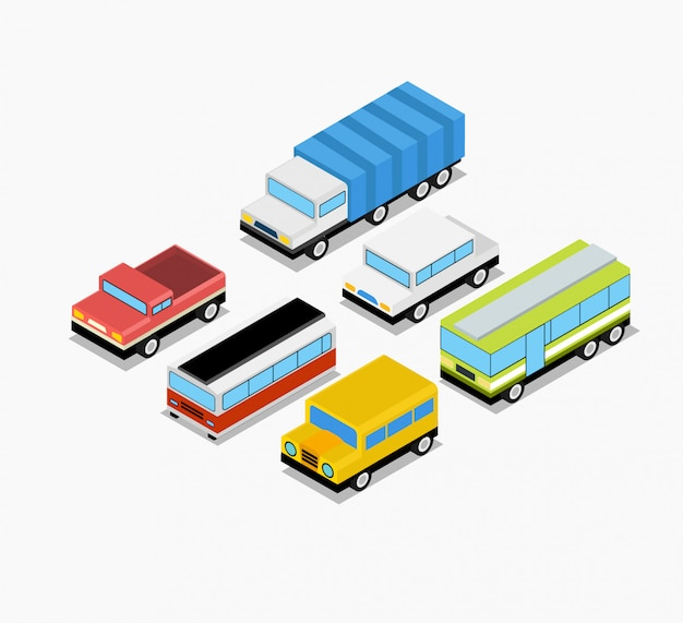 Isometrische transportset