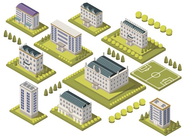 Isometrische universiteitsset