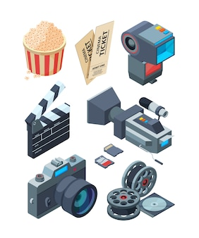 Isometrische videocamera's.