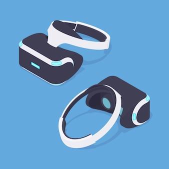 Isometrische virtual reality headset