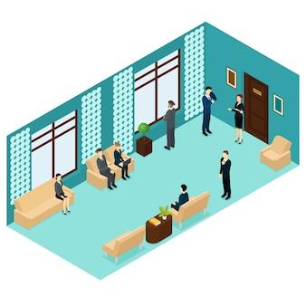 Isometrische werving van menselijk personeel