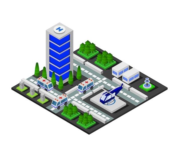 Isometrische ziekenhuis