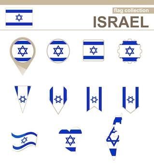 Israel flag collection, 12 versies