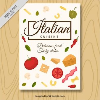 Italiaans restaurant brochure