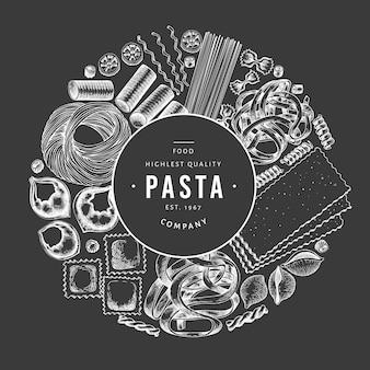 Italiaanse pasta frame