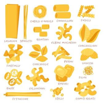 Italiaanse pasta set